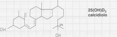 Vitamina D (Calciferolo): calcidiolo