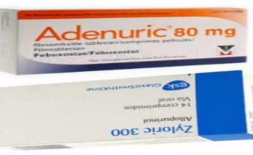 Adenuric (febuxostat) vs Zyloric (allopurinolo)