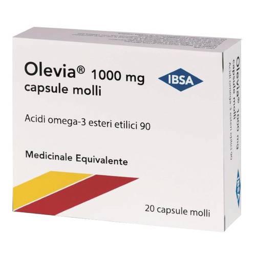 olevia: acidi grassi omega-3 polinsaturi