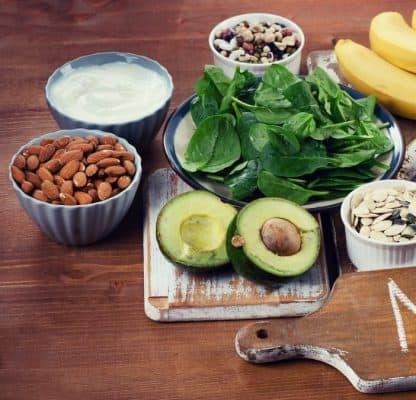 Magnesio negli alimenti: tabella dei contenuti