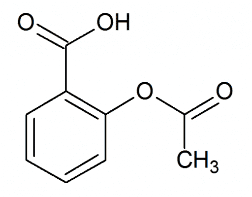 Acido Acetilsalicilico: la formula chimica