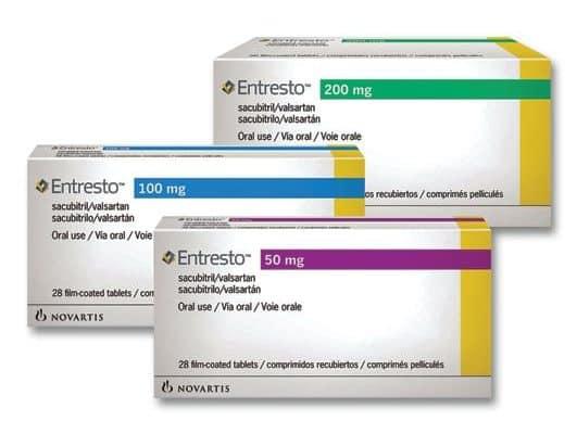 Entresto (sacubitril-valsartan) nello scompenso cardiaco